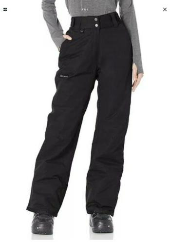 women s insulated snow pants small size