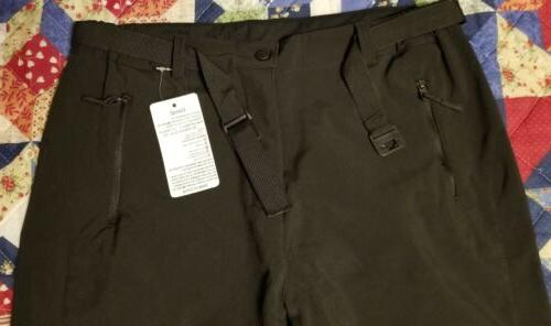 Geval Waterproof Fleece Snow Pants -