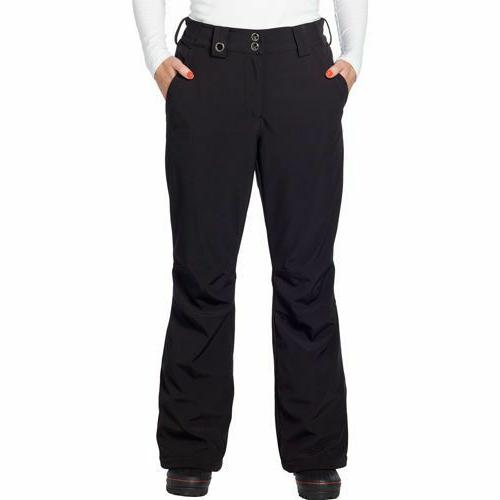 women s ski snow pants black size