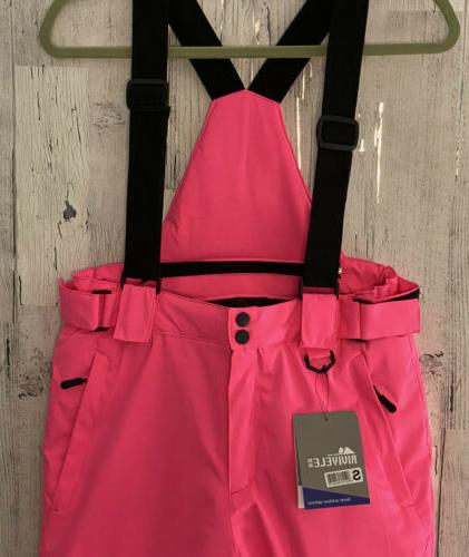 Riviyele Snow Pants and size Pink insulated waterproof
