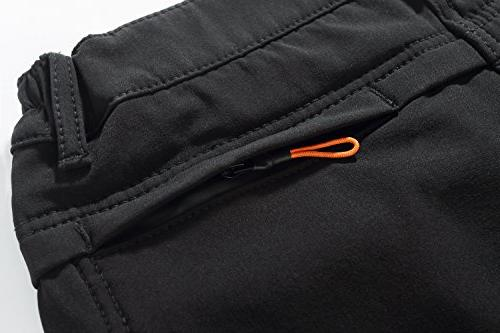 Camii Windproof Waterproof Fleece Pants