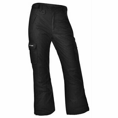 womens 1830 classic cargo snow pants black