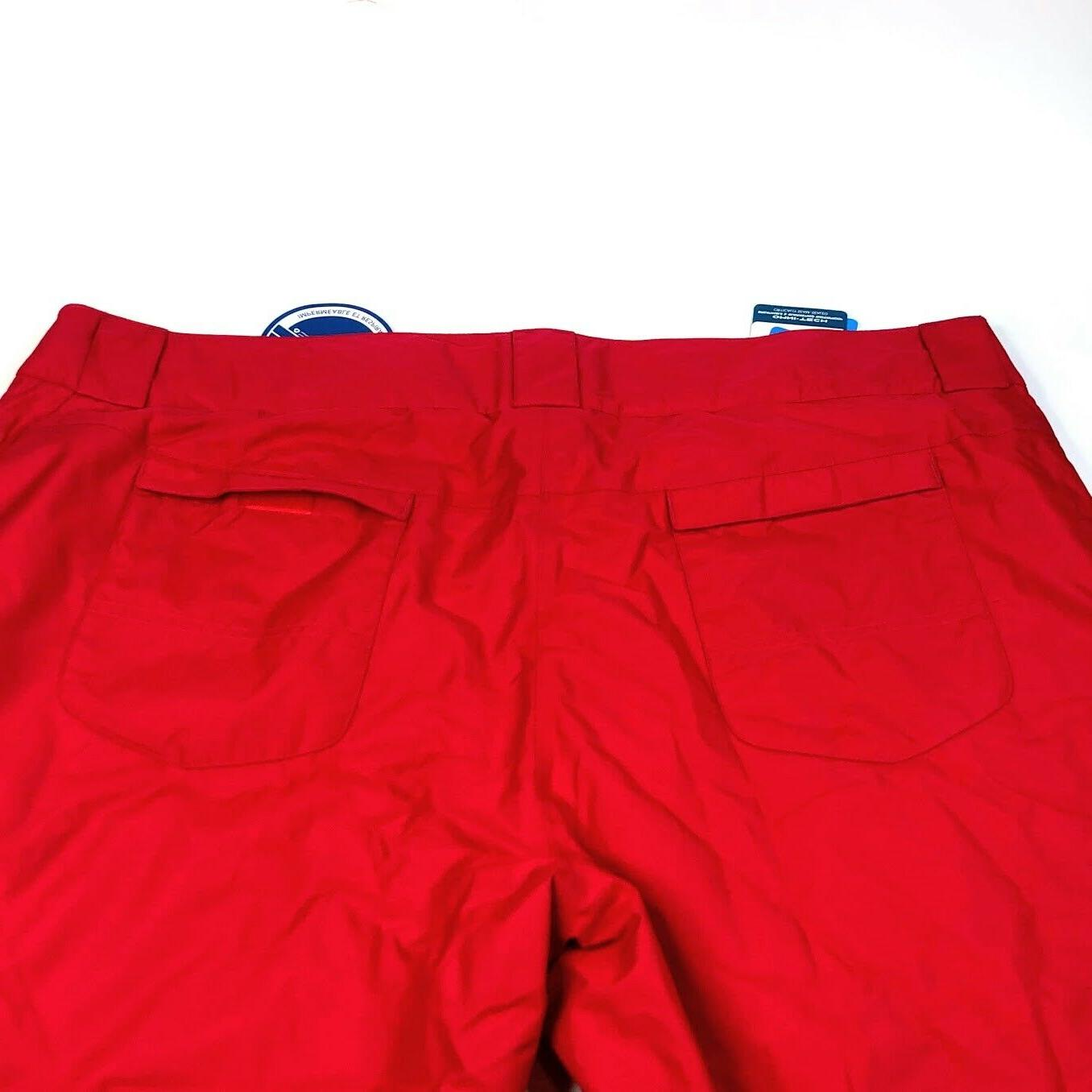 Columbia Red Insulated Ski Snow Pants 3X