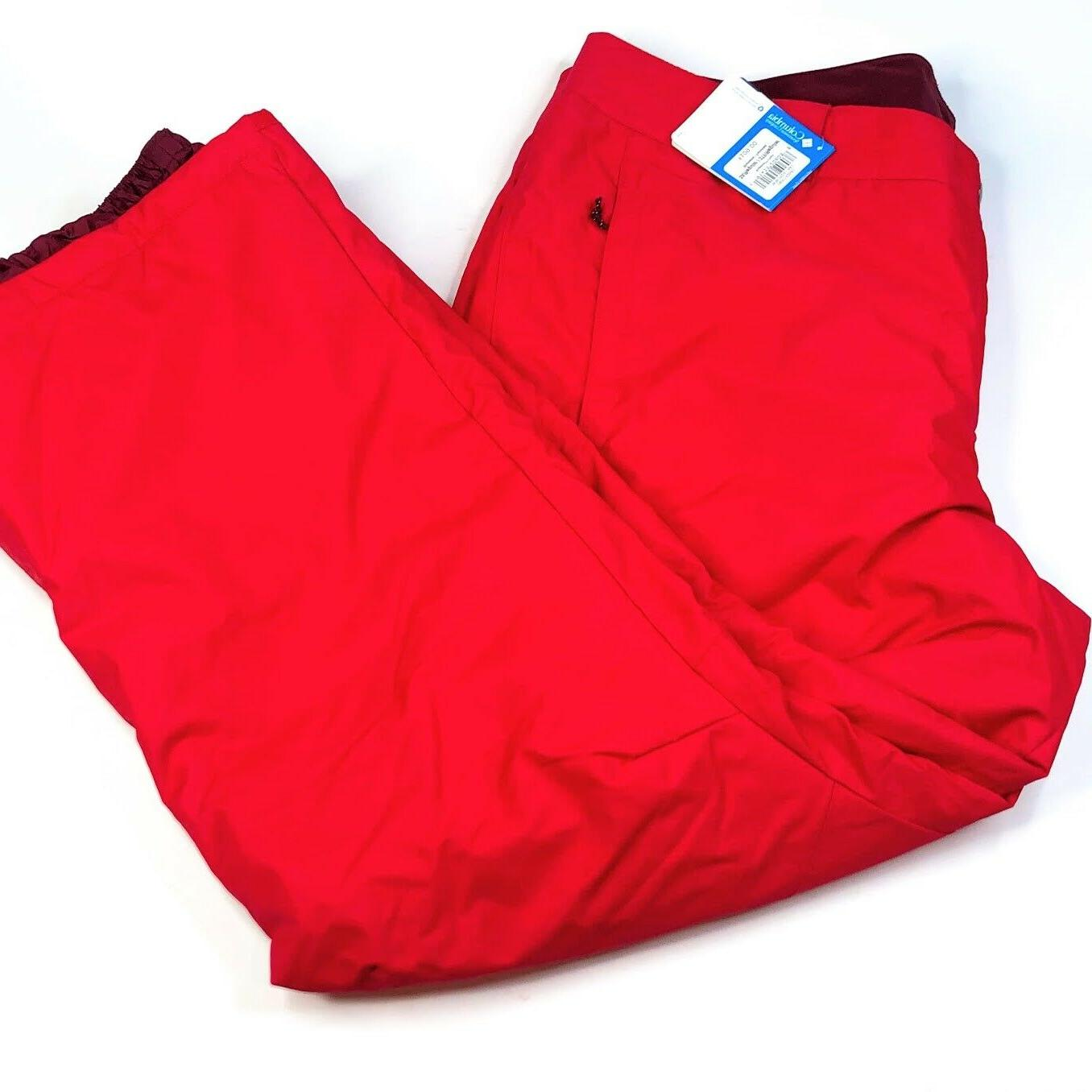 Columbia Womens Plus Size Red Insulated 3X