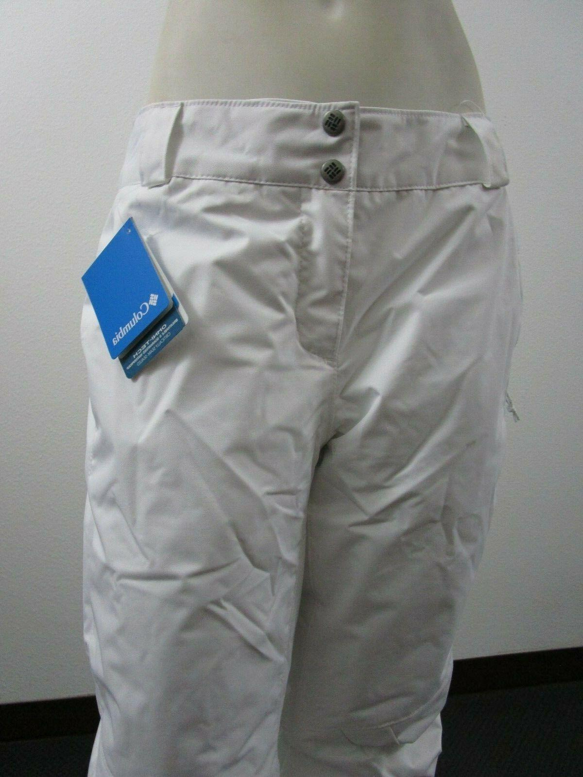 Womens Columbia Arctic Trip Waterproof Snow White