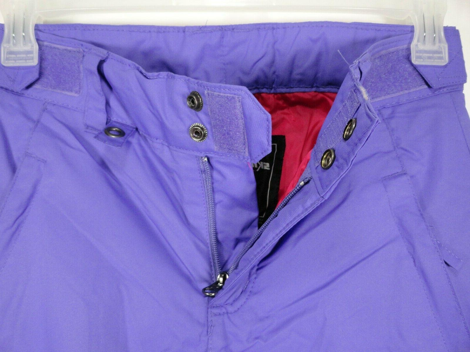 Arctix Sz Pastel Violet Waterproof Snow Pants