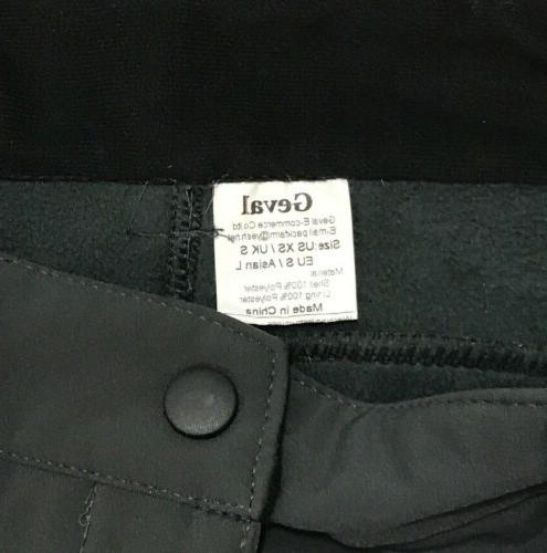Geval XS Grey Winter Snow Pants Wind Proof Lined NWT