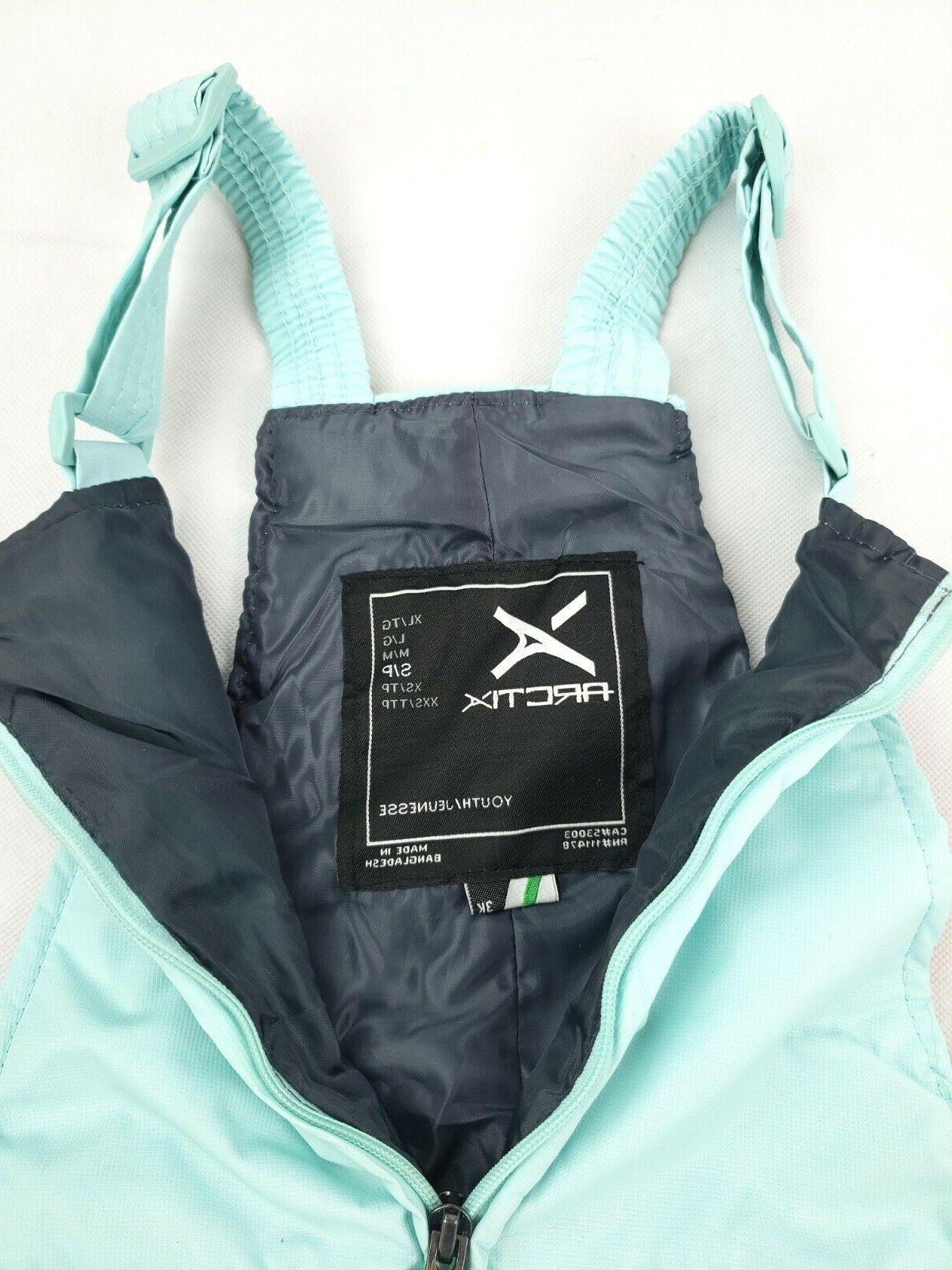 Arctix Bib, Small, Zipper Flaw