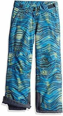 Arctix Youth Snow Pants With Reinforced Knees and Seat Blue