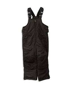 iXtreme Little Boys' Snowbib, Black, 6X/7