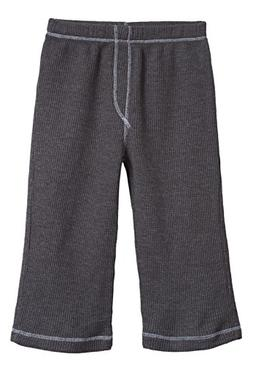 City Threads Little Boy Solid Thermal Pants for Fall and Win