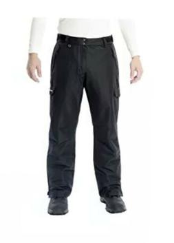 "White Sierra Men's 30"" Inseam Toboggan Insulated Pants, Blac"