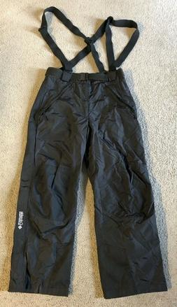 Columbia Men's Black Snow Pants Bibs - Size Large
