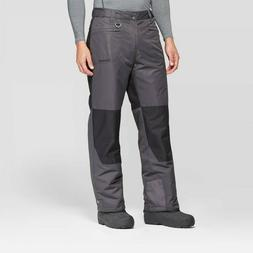 Men's Colorblock Outdoor Snow Pants - Zermatt Charcoal M, Gr