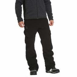 Gerry Men's Fleece Lined Ski Snow Pants 4 Way Stretch in Bla