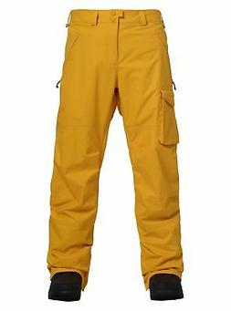Burton Men's Insulated Covert Pant - Golden Rod - Small