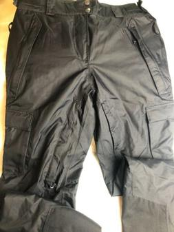 Columbia Men's Omni-Heat Tech Ski Snow Pants Black Sz M Slop
