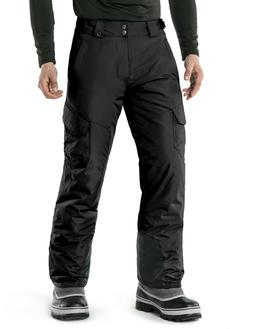 TSLA Men's Snow Pants Windproof Ski Insulated Water-Repel Ri