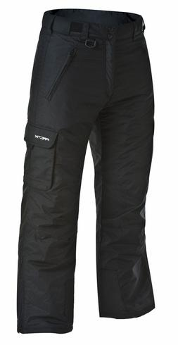 Arctix Men's 1960 Snow Sports Cargo Pants, X-Large, Black /