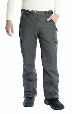 Arctix Men's Snow Sports Cargo Pants, Charcoal, Small/Regula