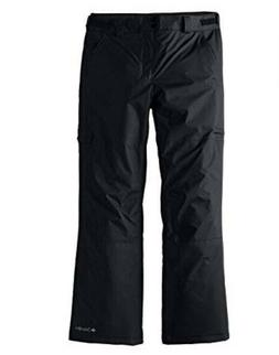 Columbia Men's Tall Snow Gun Snow Ski  Pant Black Large Wat