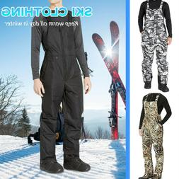 Men's Winter Snow Pants Insulated Ski Pants Windproof Snowbo