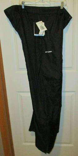 Mens Arctix Black Snow Pants  Insulated Snowboard Ski Waterp