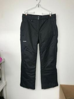 mens full zip insulated snow pants large