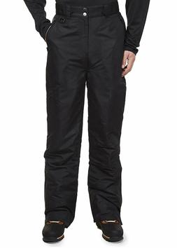 Swiss Alps Mens Insulated Ski and Snow Pants Size 3XL Black