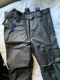 Mens Sport Essentials Snow Insulated Pants Size Large Black
