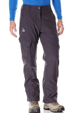 Gerry Mens Snow Pants Size LARGE 4 way Stretch Fleece lined