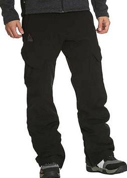 Gerry Mens Snow Pants Size SMALL 4 way Stretch Fleece lined