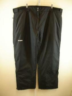 Mens sz 3XL Arctix Classic Snow Pants Black Insulated Ski Sn