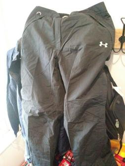 UNDER ARMOUR MENS UA SNOW SKI PANTS BLACK XXL I THINK. NEVER