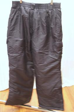 Arctic Quest Mens Large Navy Snow Pants Ski FREE SHIPPING