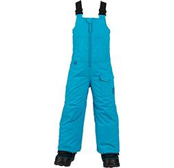 Burton Minishred Maven Bib Snowboard Pants Girls Sz 4T