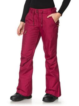 Roxy Nadia Beet Red Women's Snow Pants NEW Tailored Fit