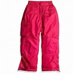 iXtreme NEW Berry Pink Girls Size 7 Multi-Pocket Insulated S