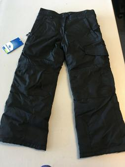 NEW Slalom Boys Ski Pants M  Snow Snowboard Pants Adj Waist