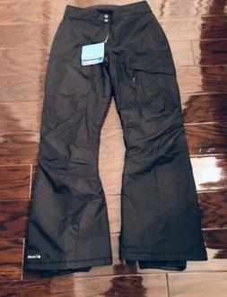 New Columbia bugaboo ski snow pants black women's small.