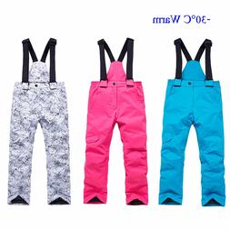 New Children Skiing <font><b>Pants</b></font> Trousers Outdo