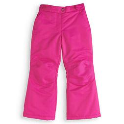 NEW GIRLS SWISS TECH PINK SKI SNOW SNOWBOARD PANTS SZ M 7-8
