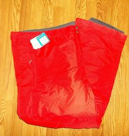 NEW COLUMBIA Men's Ski Snow Pants Size 5X 5XL Red Waterproof