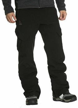 NEW Gerry Men's Snow Tech Pants with 4 Way Stretch Fabric Bl