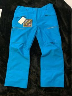 New North Face XXL Powder Guide Goretex Ski Snow Pants Blue