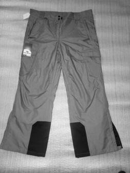 New Slalom Ski PANTS MENS XL Grey And Black. Cold weather sn