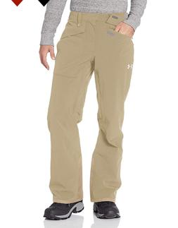 NEW UNDER ARMOUR SNOW PANTS COLD WEATHER KHAKI SKI TROUSER X