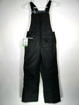 New Arctix Youth Sz L Black Snow Ski Pants Insulated Bib Ove