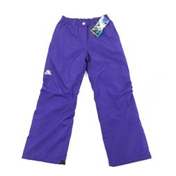 NEW Zero Xposer Youth Snow Pants Size 14/16 Kids Purple Snow