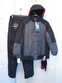 NEW ZEROXPOSUR WINTER JACKET COAT VERTICAL SNOW PANTS CAP SN